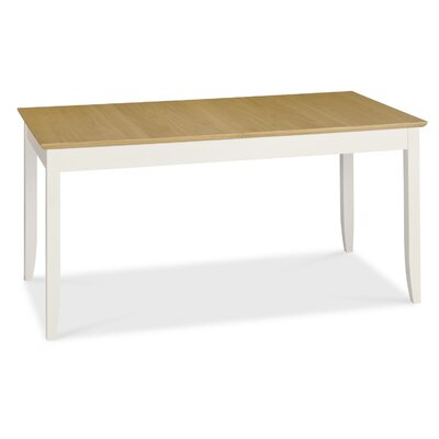 Elements Shaker Two Tone Extendable Dining Table