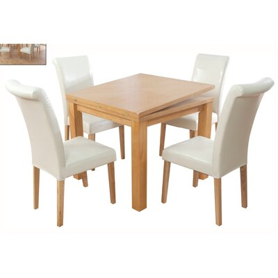 Elements Bari Extendable Dining Table and 4 Chairs