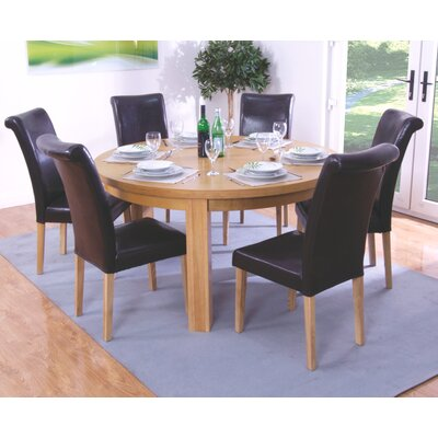 Elements Bari Dining Table and 6 Chairs