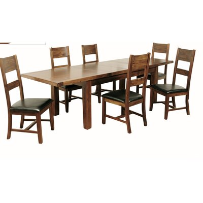 Elements Extendable Dining Table and 6 Chairs