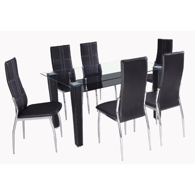 Aspect Design Dining Table and 6 Chairs