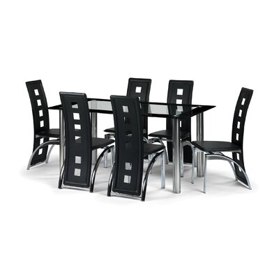 Aspect Design Berisca Dining Table and 6 Chairs