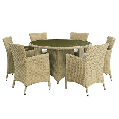 Aspect Design Luxury 6 Seater Dining Set with Cushions