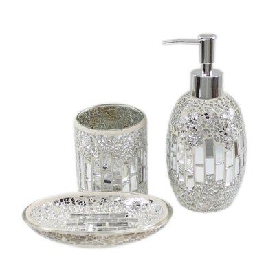 Urban Designs 3 Piece Mosaic Bathroom Set