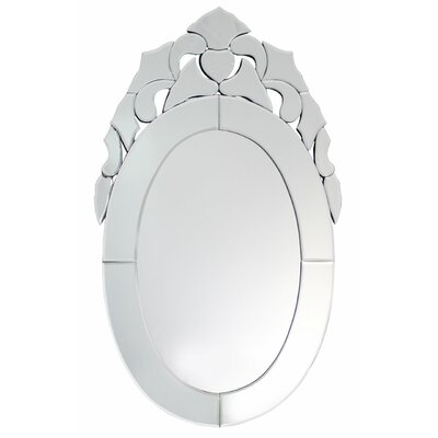 House Additions Venetian Oval Mirror