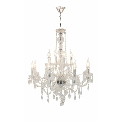 House Additions Princess 12 Light Chandelier