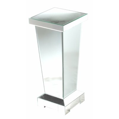 House Additions Mirror Pedestal Plant Stand