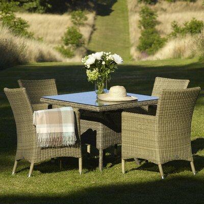 Urban Designs Naunton Manor 4 Seater Dining Set with Cushions