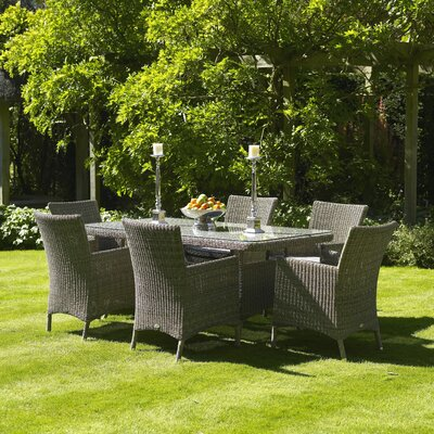 Urban Designs Naunton Manor 6 Seater Dining Set with Cushions