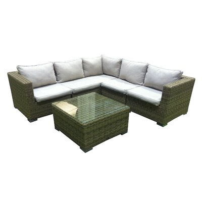 Urban Designs Naunton Manor 5 Seater Sectional Sofa Set with Cushions