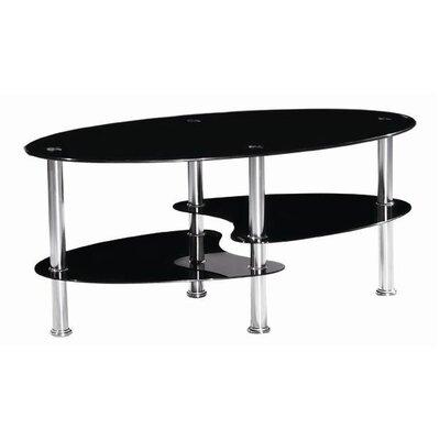 Urban Designs Coffee Table with Magazine Rack