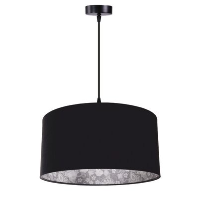 Urban Designs West bay 1 Light Drum Pendant