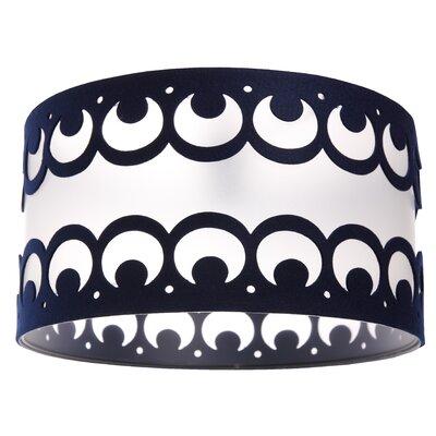 Urban Designs Camber Sands 1 Light Drum Pendant