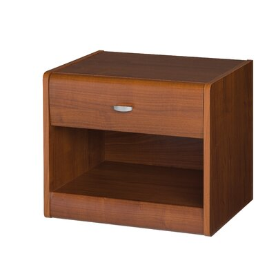 Urban Designs Dover 1 Drawer Bedside Table