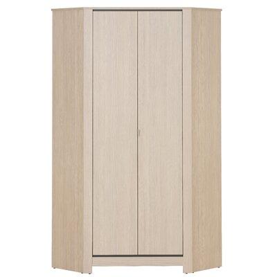 Urban Designs Monez 2 Door, 1 Drawer Corner Wardrobe