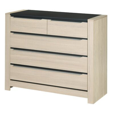 Urban Designs Monez 5 Drawer Chest of Drawers
