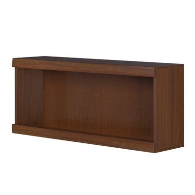 Urban Designs Meris Low Wide Wall Bookcase