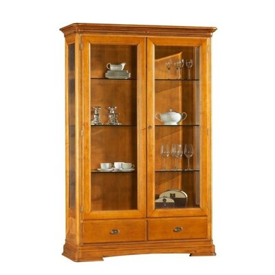 Urban Designs Navojoa Glass Display Cabinet