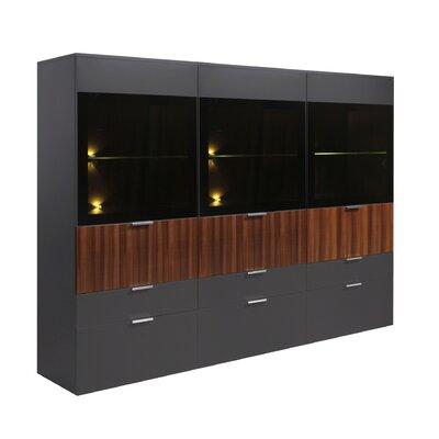 Urban Designs Toluca Glass Display Cabinet