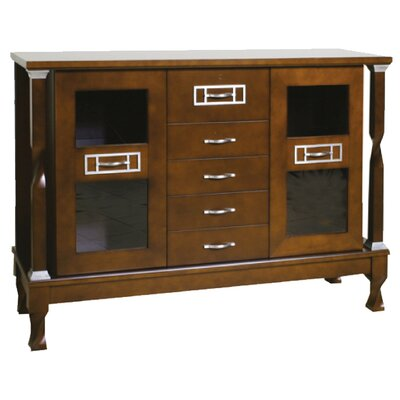 Urban Designs Reynosa 2 Door 5 Drawer Cabinet