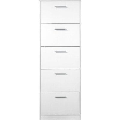 Urban Designs Easy Shoe Cabinet with 5 Flaps