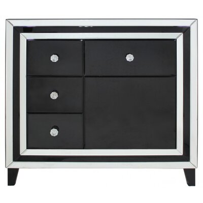 House Additions Brooklyn 4 Drawer 1 Door Cabinet