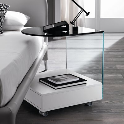Urban Designs Rollo 1 Drawer Bedside Table
