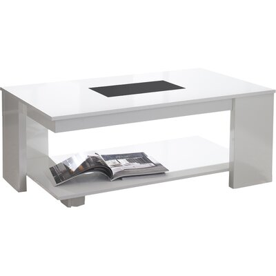Urban Designs Cleo Coffee Table with Magazine Rack
