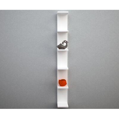 Urban Designs Emerald Wall Hung Open Shelves Module