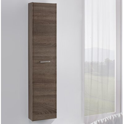 Urban Designs Mali 35 x 160cm Wall Mounted Tall Bathroom Cabinet