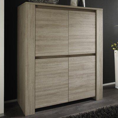 Urban Designs Elisa 4 Door Storage Cabinet