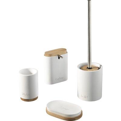 Urban Designs Extra 4 Piece Bathroom Accessory Set