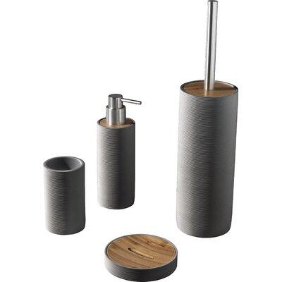 Urban Designs Earle 4 Piece Bathroom Accessory Set