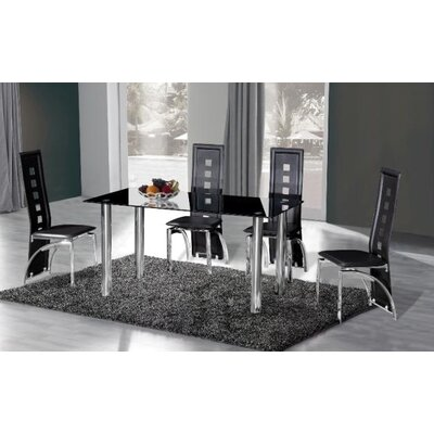 Urban Designs Crystal Dining Table
