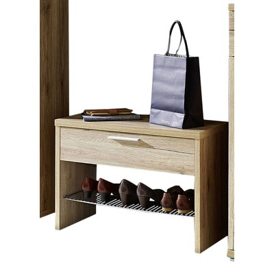 Urban Designs Top Shoe Cabinet with Drawer