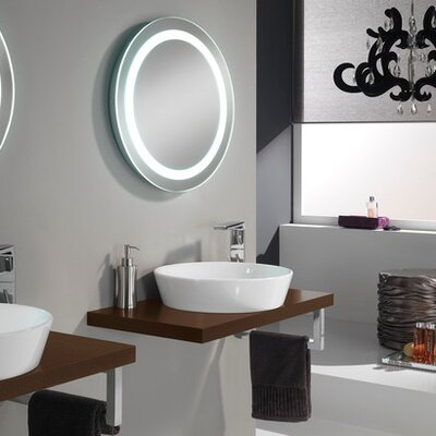 Urban Designs Clever 80cm Wall Mounted Vanity Unit with Mirror and Tap