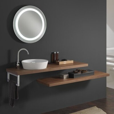 Urban Designs Clever 200cm Wall Mounted Vanity Unit with Mirror and Tap