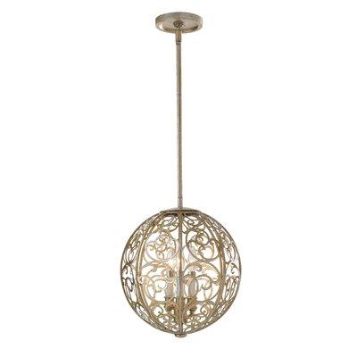 Energo Arabesque 3 Light Globe Pendant