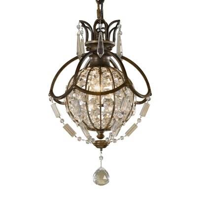 Energo Bellini 1 Light Globe Pendant