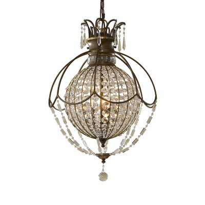 Energo Baton Rouge 3 Light Globe Pendant
