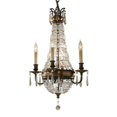 Energo Bellini 4 Light Candle Chandelier