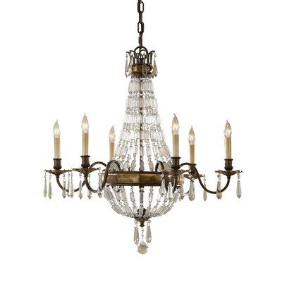 Energo Bellini 6 Light Candle Chandelier