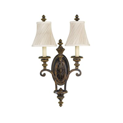 Energo Drawing Room 2 Light Wall Sconce