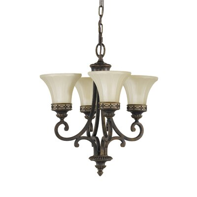 Energo Drawing Room 4 Light Chandelier