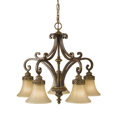 Energo Drawing Room 5 Light Chandelier