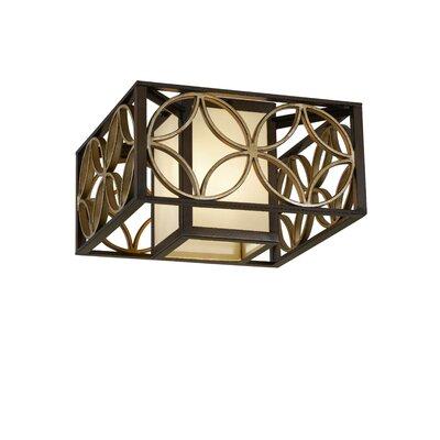 Energo Remy 2 Light Flush Ceiling Light