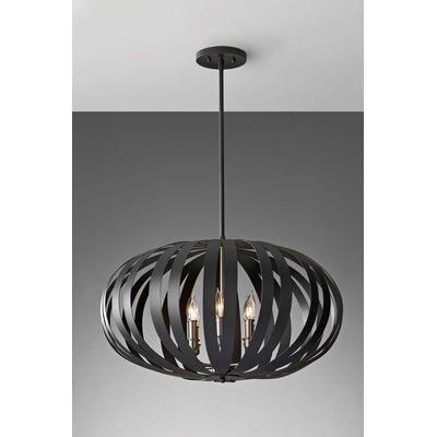 Energo Woodstock 6 Light Globe Pendant