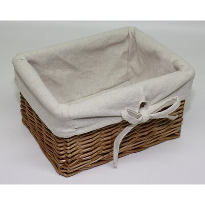 Wicker Valley Square Willow Basket