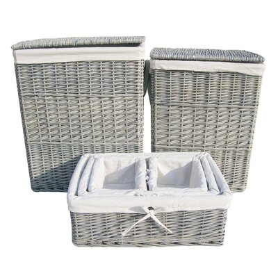 Wicker Valley 6 Piece Laundry and Storage Basket Set