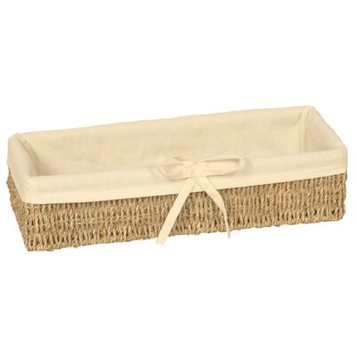 Wicker Valley Long Lined Thin Basket